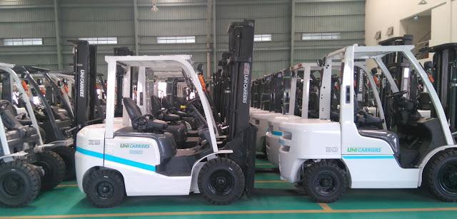 Xe nâng diesel 2.5 - 3 tấn