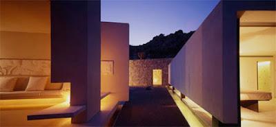 Casa Finisterra 16 Rumah Minimalis Indah Di Tebing Batu