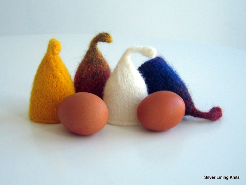 Silver Lining Knits Fun Felt Egg Cozy Pattern