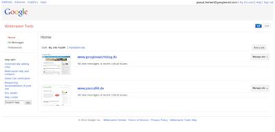 Webmaster Design im November 2011