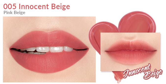 Son Bấm I'm MEME I'm Tic Toc Tint Lip Velvet Innocent Beige