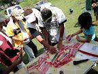 チャプター名物 ダム周辺清掃 参加賞をいただくの図 2011-07-19T13:58:17.000Z