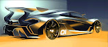 PEBBLE BEACH 2014 - McLaren P1 GTR is confirmed