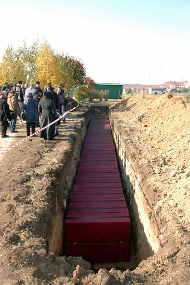 Поховання репресованих на Західному цвинтарі Одеси