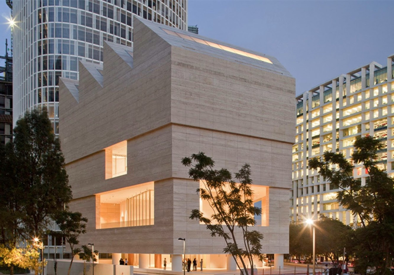 Mexico: MUSEO JUMEX by DAVID CHIPPERFIELD ARCHITECTS