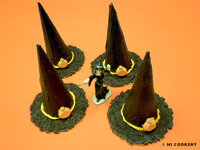 Witch Hat Cone Cookies