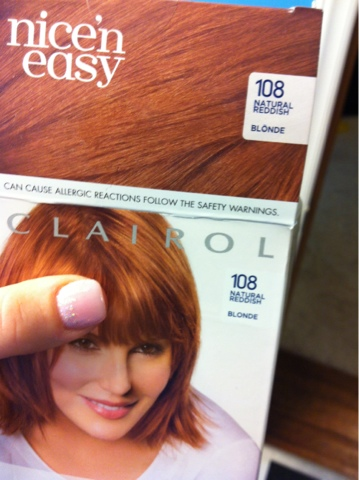 Strawberry Blonde Hair Color Box Step one: find a box color