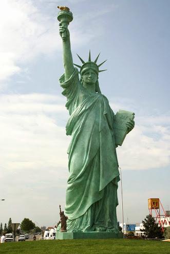 Réplique de la Statue de la Liberté à Colmar