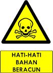 Rambu Bahaya Bahan Beracun