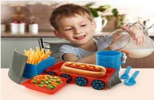 Tren chew chew desmontable para servir comida