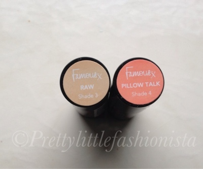 Famous cosmetics lip addict shade 3 and 4