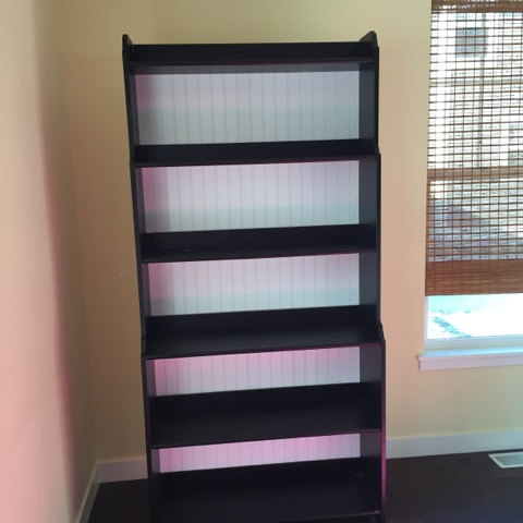 IKEA shelving hack- the Style Sisters