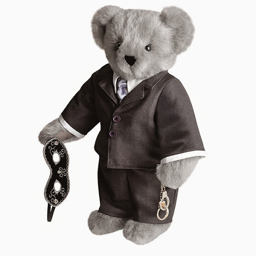 Fifty Shades of Grey teddy bear advertised on NPR