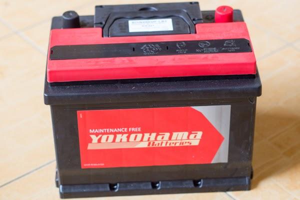 bateri baru yokohama