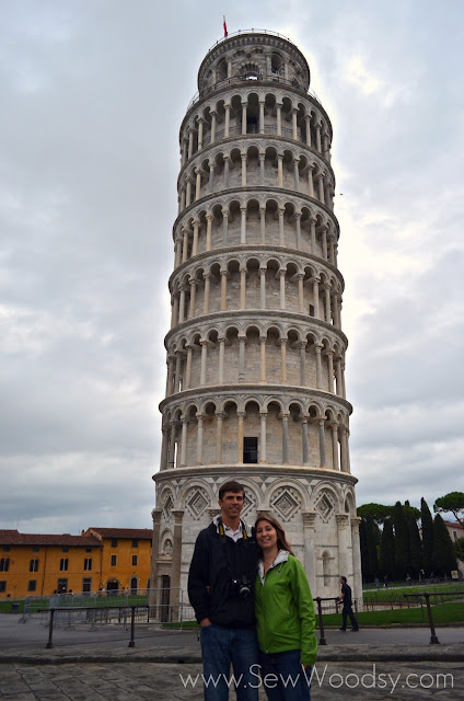 The Leaning Tower of Pisa; Italy