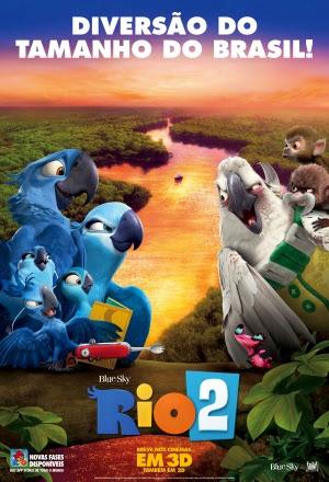 Filme Poster Rio 2 TS XviD Dual Audio & RMVB Dublado