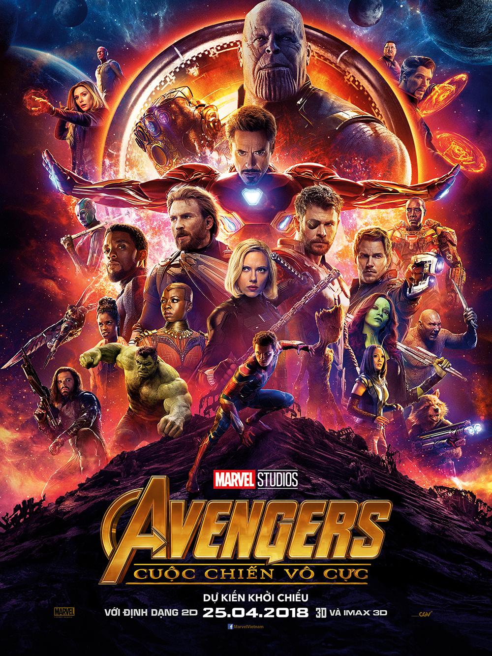 Avengers: Infinity War (Cuộc Chiến Vô Cực)