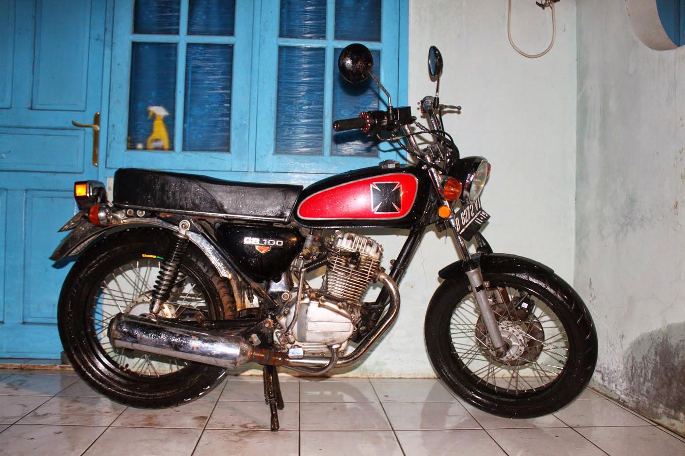 105 Gambar Modif Motor Cb Klasik Modifikasi Motor Honda CB Terbaru