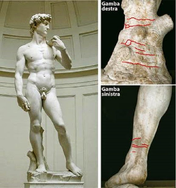 More Stuff: Michelangelo's David risks toppling, researchers warn