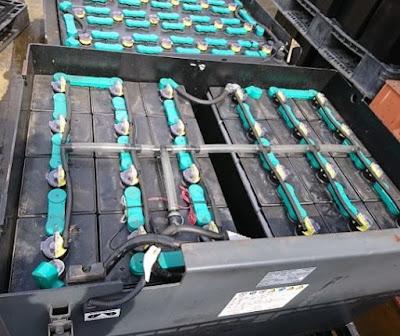 Bình điện xe nâng Hitachi 48V 565AH