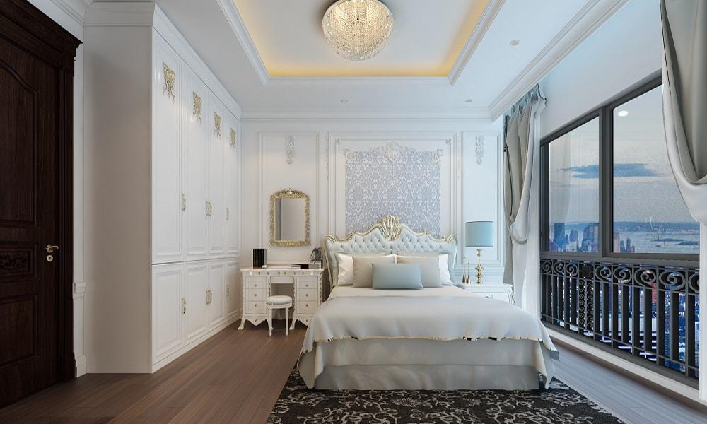 Phòng ngủ căn hộ The Emerald Mỹ Đình