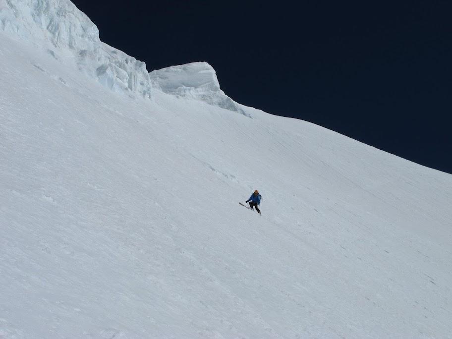 Un tranquillo weekend di paura - parete Sud del Monte Bianco 457569_375213322535383_100001401550381_78565437_2123733960_o