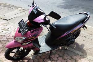 rent a motorbike Nusa Penida