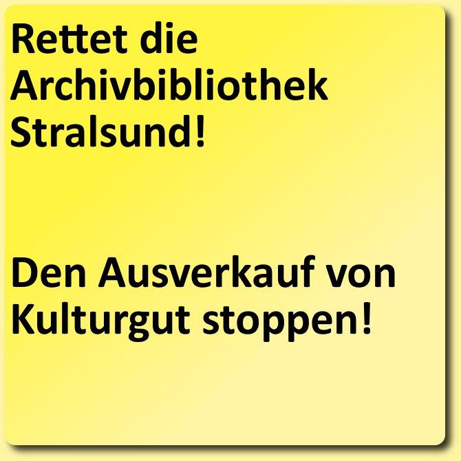 Rettung der Stralsunder Archivbibliothek. Bild: Klaus Graf, http://archiv.twoday.net/