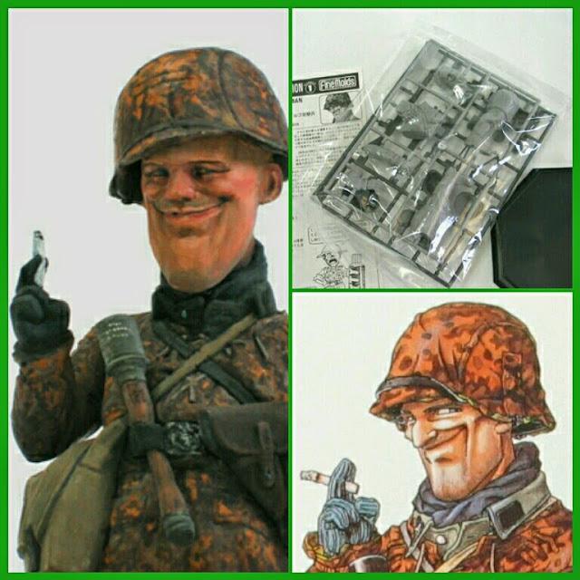 Waffen-SS Soldier Maqueta