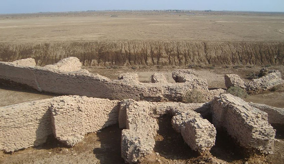 Iraq: Sumerian city of Lagash slowly emerging from desert sands
