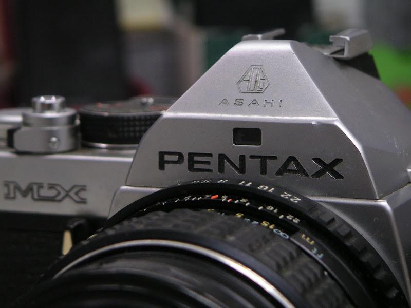 同事看到我用Pentax ....
