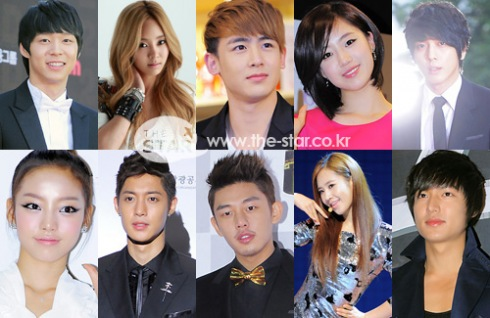 "Kim Hyun Joong, Yoochun, Nickhun, Yuri, Secret, and more gather for ""The Star"""