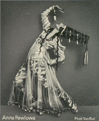 vintage danse pavlova