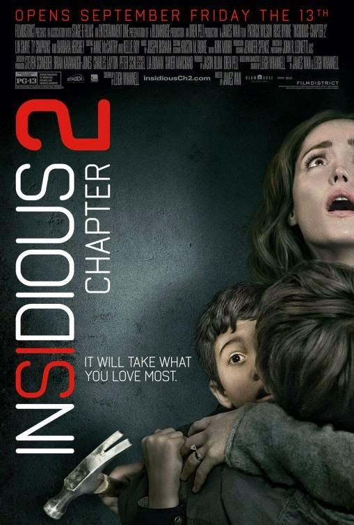 Poster Of Insidious: Chapter 2 (2013) Full Movie Hindi Dubbed Free Download Watch Online At Alldownloads4u.Com