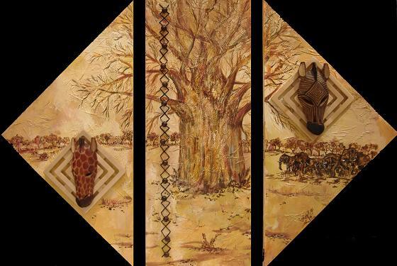 """BaoBob Tree"" by Artist Serena Boschert"