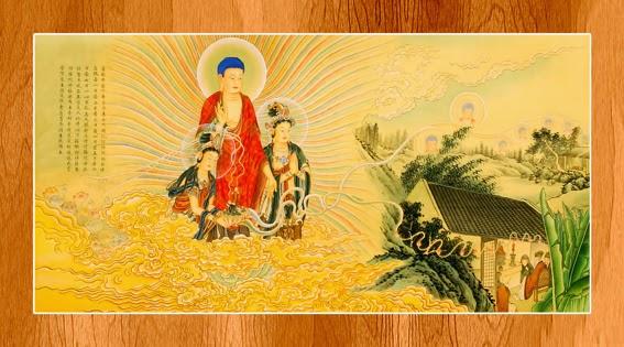 Bộ ảnh đẹp minh họa bản Kinh A Di Đà 13
