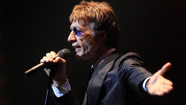 Bee Gees Singer Robin Gibb