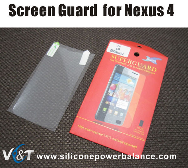 screen protector for lg e960 nexus 4 google nexus 4 screen protector