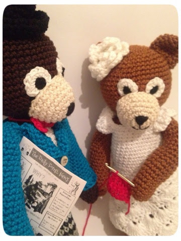 Amigurumi Patterns Contest : Woollen Thoughts: Teddy Family - Amigurumi Design Contest ...