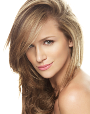 2011 Celebrity Beauty Inspiration  Shantel VanSantenShantel Vansanten Hair