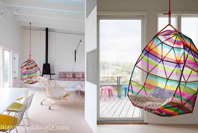 Sillas colgantes decorar tu casa es - Silla colgante ...