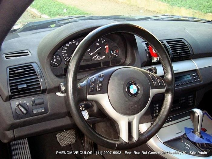 BMW X5 Sport 2002 V-8 4x4 Blidada IIIA usada - interior