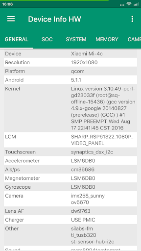 Device Info HW+- screenshot thumbnail