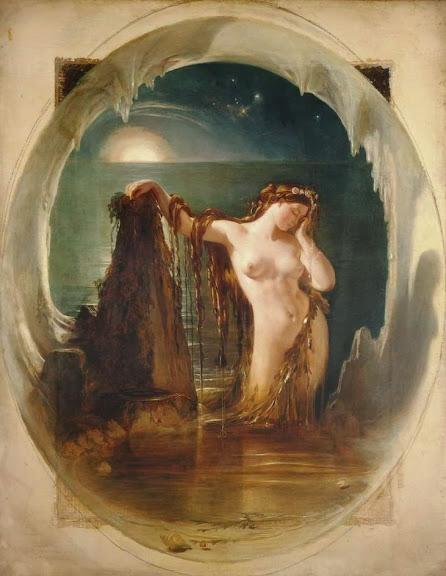 Daniel Maclise - The Origin of the Harp