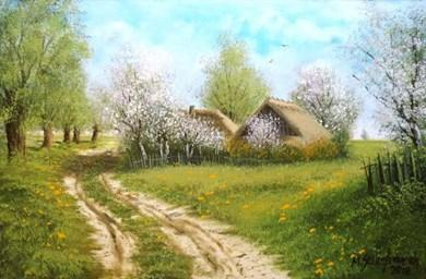 Wiosna w malarstwie- który z obrazów jest dla Ciebie estetyczną ...