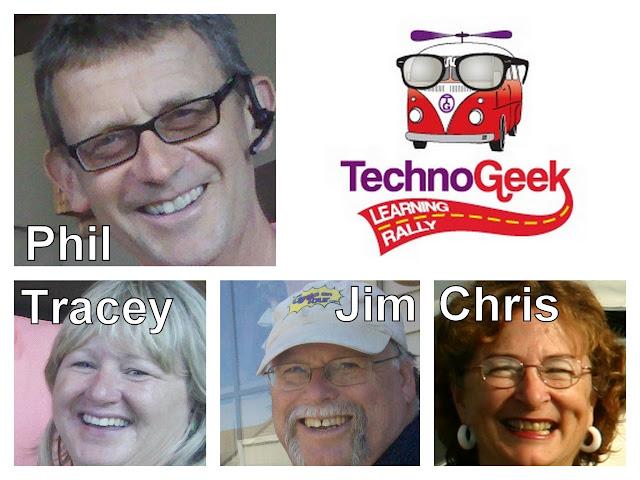 Techno-Geek Learning Rally 'staff'