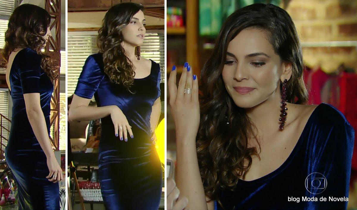 moda da novela Em Família - look da Marina dia 30 de junho