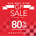 14 March - 5 April 2015 Debenhams GP Sale 80%