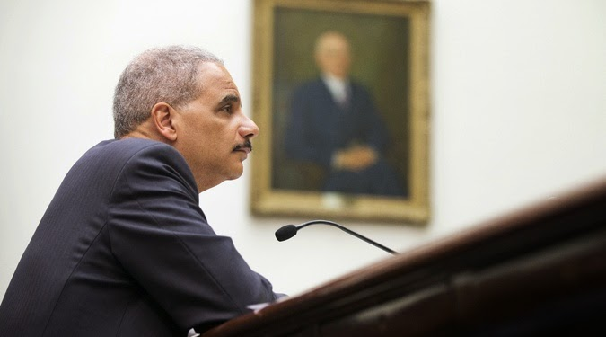 Attorney General Eric Holder has feisty encounter with Republican congressman
