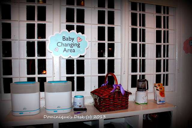 Baby Changing Area